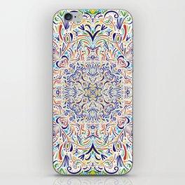 Coloful Doodle iPhone Skin