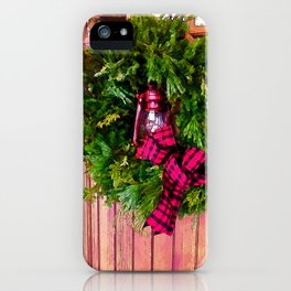 Winter in Vermont iPhone Case