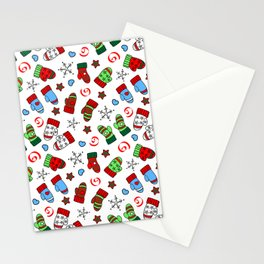 Christmas Kittens Mittens Stationery Cards