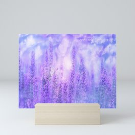 Lavender fields Mini Art Print