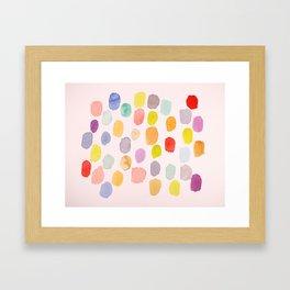 Palette I Framed Art Print