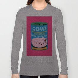 Lata de Habichuelas Goya Long Sleeve T-shirt