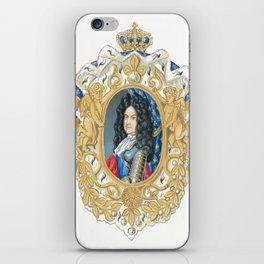 King Louis XIV iPhone Skin