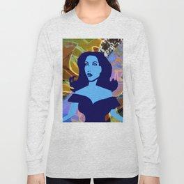 Sunny - Blue BG Long Sleeve T-shirt