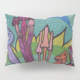 Mad for Mushrooms Pillow Sham