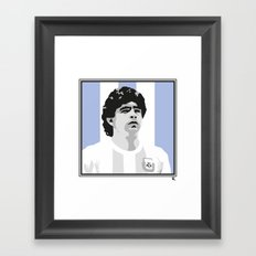 Maradona Framed Art Print