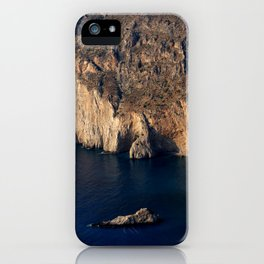 The cliffs of Cephalonia iPhone Case