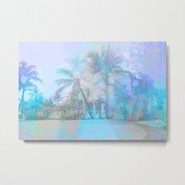 Blue Bahamas Paradise  Metal Print