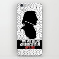 snape iPhone & iPod Skins featuring Harry Potter Severus Snape by raeuberstochter