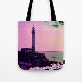 Golden Hours / Lighthouse Barlovento La Palma Tote Bag