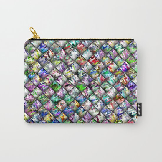 Patchwork Rainbow Carry-All Pouch