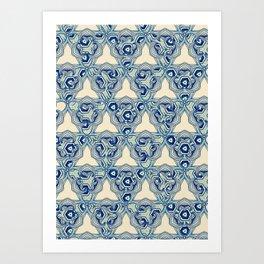 Persian Paisley Art Print