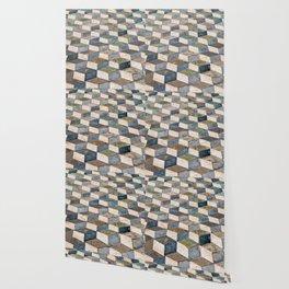 Pompeii Floor Wallpaper