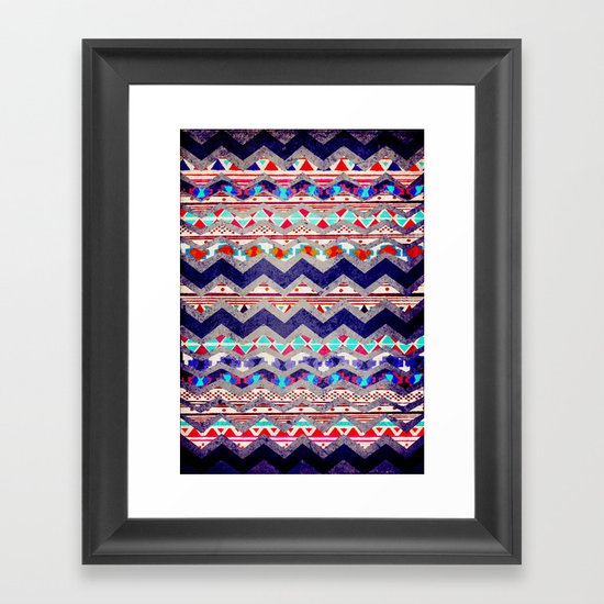 TRIBAL MIND Framed Art Print
