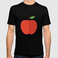 Apple 17 MEDIUM Mens Fitted Tee Black