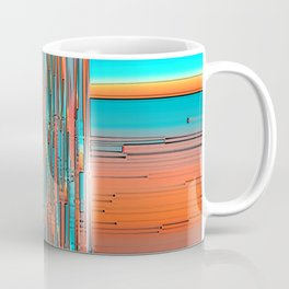 Interplay Of Warm And Cool Coffee Mug