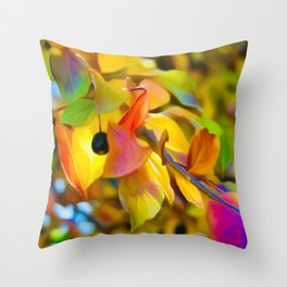 Autumn Accent Throw Pillow