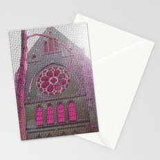 If god would be a DJ... Stationery Cards