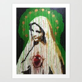 Our Lady of Roosevelt Island Art Print