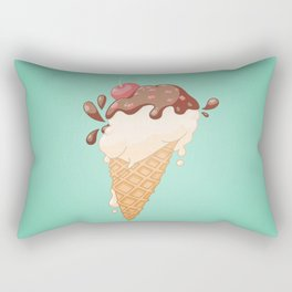 Summer Icecream Rectangular Pillow