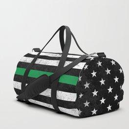 Thin Green Line Duffle Bag