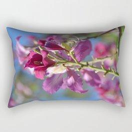 Flor Fucsia en Isla Catalina Rectangular Pillow