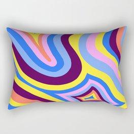 wavesofcolour Rectangular Pillow