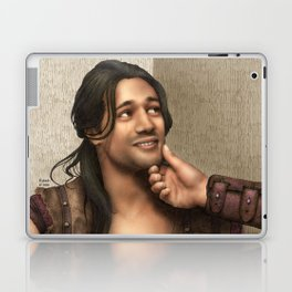 Cute Nasir (Nagron, Spartacus) Color Version Laptop & iPad Skin