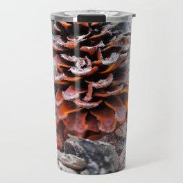 Winter Pinecone Travel Mug