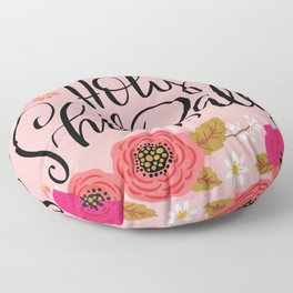 Pretty Swe*ry: Holy Shit Balls Floor Pillow
