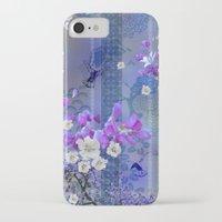 hummingbird iPhone & iPod Cases featuring Hummingbird by Sabah