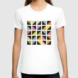 Triangle box pattern T-shirt