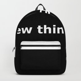 Take this waltz quote Backpack