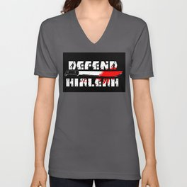 DEFEND HIALEAH Unisex V-Neck