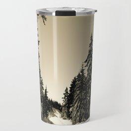 Snow Day Cypress Mountain BC Canada Travel Mug