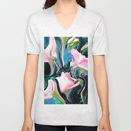 Beautiful Tendrils Unisex V-Neck