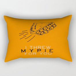 I Threw My Pie for You - Orange is the New Black Rectangular Pillow