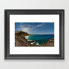 Makapuu Point Framed Art Print