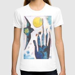 Bird and Hand T-shirt