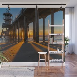 In the Shadow of the Pier Wall Mural