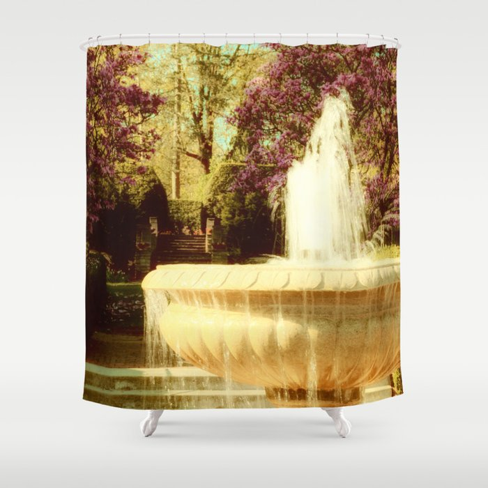 Spring in Tuscany Shower Curtain by woodnimages | Society6
