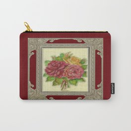 Bunch of Roses red design Carry-All Pouch