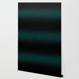 Linear Emerald Black Wallpaper
