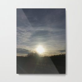 Sunsrise in the Morning Metal Print