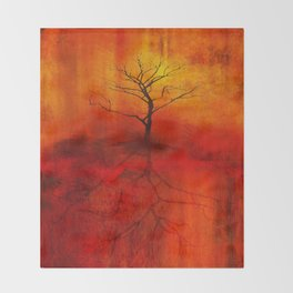 Uprooted Throw Blanket
