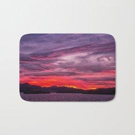 Lake Havasu Sunrise Bath Mat