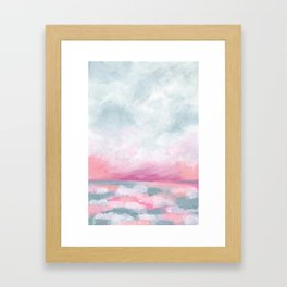 Sailors Delight - Tropical Ocean Seascape Framed Art Print