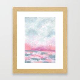Sailors Delight - Tropical Ocean Seascape Framed Art Print