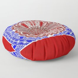 RWB Bandanna Floor Pillow