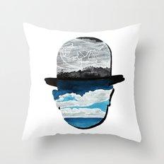 Ceci n'est pas une Magritte Throw Pillow